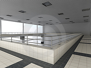 Interior Of A Public Building. Stock Photos - Image: 15358473
