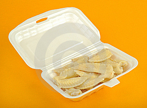 Chicken Wing Royalty Free Stock Photos - Image: 15363118