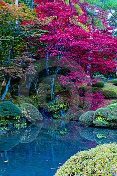 Japanese Autumn Royalty Free Stock Photos - Image: 15363838