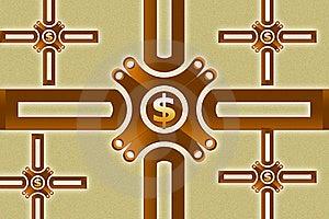 Dollar Sing Royalty Free Stock Photo - Image: 15366075