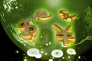 World And World Currency Stock Photo - Image: 15366780