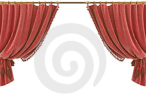 Curtain Stock Photography - Image: 15366872