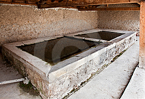 Old Washing Place Royalty Free Stock Images - Image: 15367359