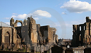 Elgin Cathedral Royalty Free Stock Images - Image: 15367759