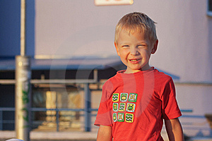 The Boy With A Smile Stock Photos - Image: 15373413