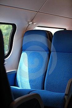 Train Seats Royalty Free Stock Photography - Image: 15373527