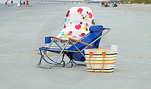 Beach Chairs Stock Images - Image: 15386004