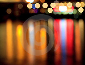 Abstract color lights Stock Images