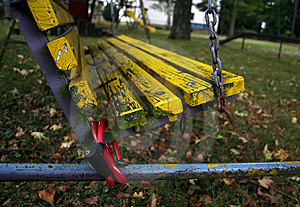 Chained Swing Stock Images - Image: 1545694