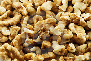 Shelled Nuts Royalty Free Stock Photos - Image: 1549388