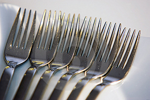 Six Forks Stock Photos - Image: 1549903