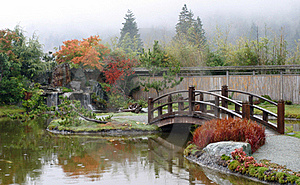 Autumn Japanese Garden Royalty Free Stock Photography - Image: 15401027