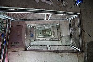 Spiralling Graffiti Staircase Berlin Stock Photo - Image: 15402770