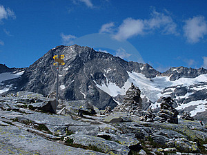 Improvement Of The Mountain Summits Royalty Free Stock Photo - Image: 15403315