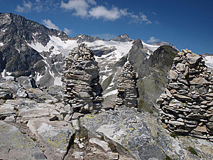 Improvement Of The Mountain Summits Royalty Free Stock Image - Image: 15403336