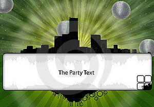 The Party Flyer Stock Photos - Image: 15403473