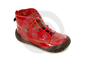 Red Shoe Royalty Free Stock Photo - Image: 15405485