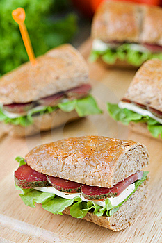 Sandwiches Royalty Free Stock Image - Image: 15406036