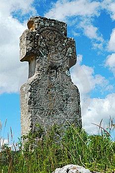 Religious Stone Cross Stock Photography - Image: 15406692