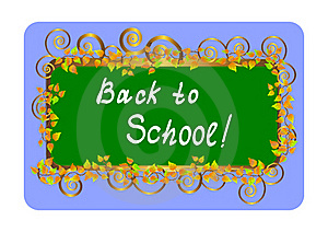 Back To School - Card. Vector Illustration. Royalty Free Stock Photo - Image: 15407545