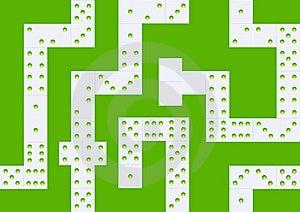 White Domino Seamless Background Royalty Free Stock Photo - Image: 15409345