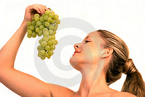 Yummy Grapes Royalty Free Stock Photography - Image: 15410717