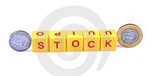 Money And Stock Stock Photo - Image: 15411000