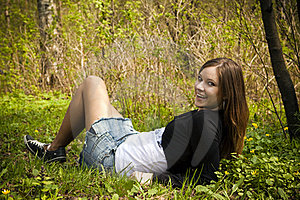 Mystery Girl Royalty Free Stock Image - Image: 15411006