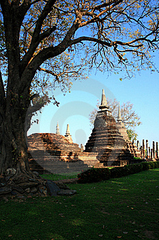 Sukhothai Historical Park In Thailand Stock Images - Image: 15414764