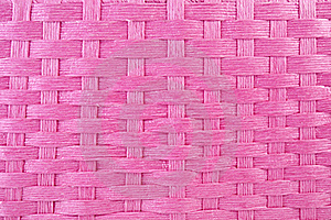 Pink Basket Weave Stock Photo - Image: 15414770