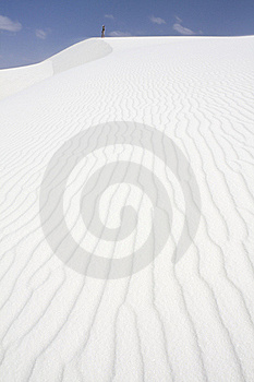 Paterns On Dunes Stock Image - Image: 15417181