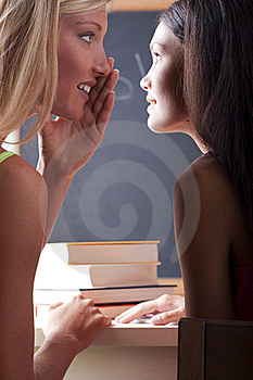 Students Chatting Stock Photos - Image: 15420023