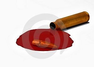 Bloody Bullet – The Horrors Of War Royalty Free Stock Images - Image: 15421679