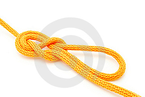 Directional Figure Eight Knot Royalty Free Stock Image - Image: 15422086