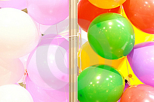 Multicolored Balloons Royalty Free Stock Image - Image: 15423176
