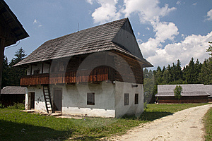 Traditional Wooden Houses Royalty Free Stock Images - Image: 15423909