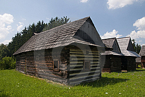 Traditional Wooden Houses Stock Photography - Image: 15423952