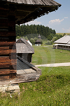 Traditional Wooden Houses Stock Images - Image: 15424254