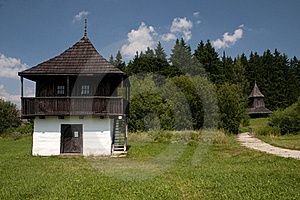 Traditional Wooden Houses Stock Photos - Image: 15425093