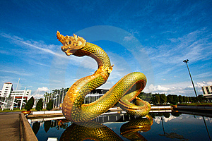 Naga In Side Under View Stock Photo - Image: 15426100