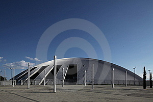 Modern Sport Hall Royalty Free Stock Photo - Image: 15427385