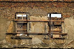 Ruin Brick Facade Stock Photography - Image: 15428372