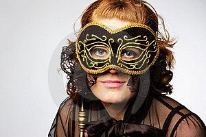 Lady Mask Royalty Free Stock Photo - Image: 15429435