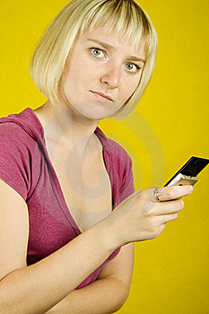 SMS. Emotions Royalty Free Stock Images - Image: 15430409