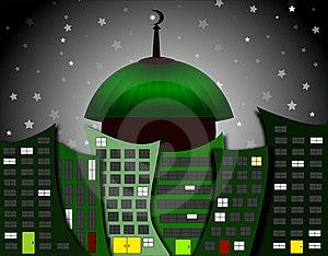 Mosque City Stock Photo - Image: 15430500