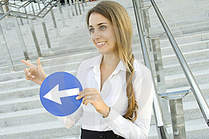 Young Woman Gesturing Stock Photo - Image: 15431310