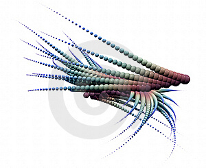 Abstract Exotic Alien Design Royalty Free Stock Photos - Image: 15433408