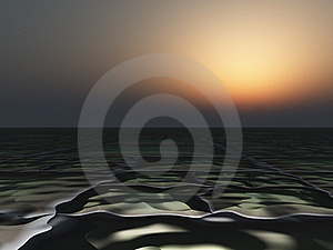 Dark Horizon Background Stock Image - Image: 15433551