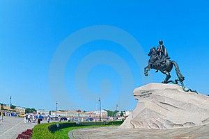 The Bronze Horseman Stock Image - Image: 15434251
