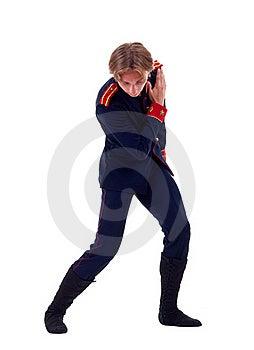 Ballet Figurant Giving A Bow Stock Photos - Image: 15434523